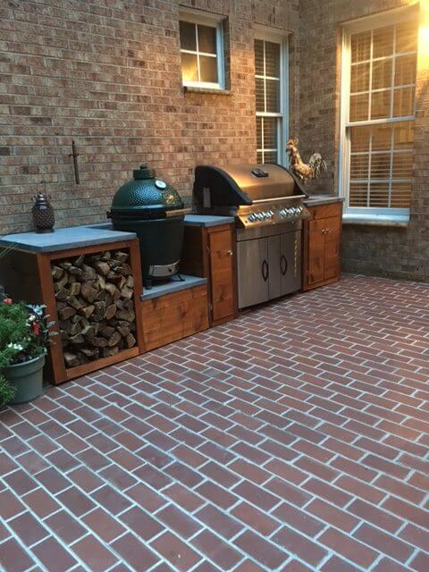 Clay Thin Brick Floor Patio E1501682247380